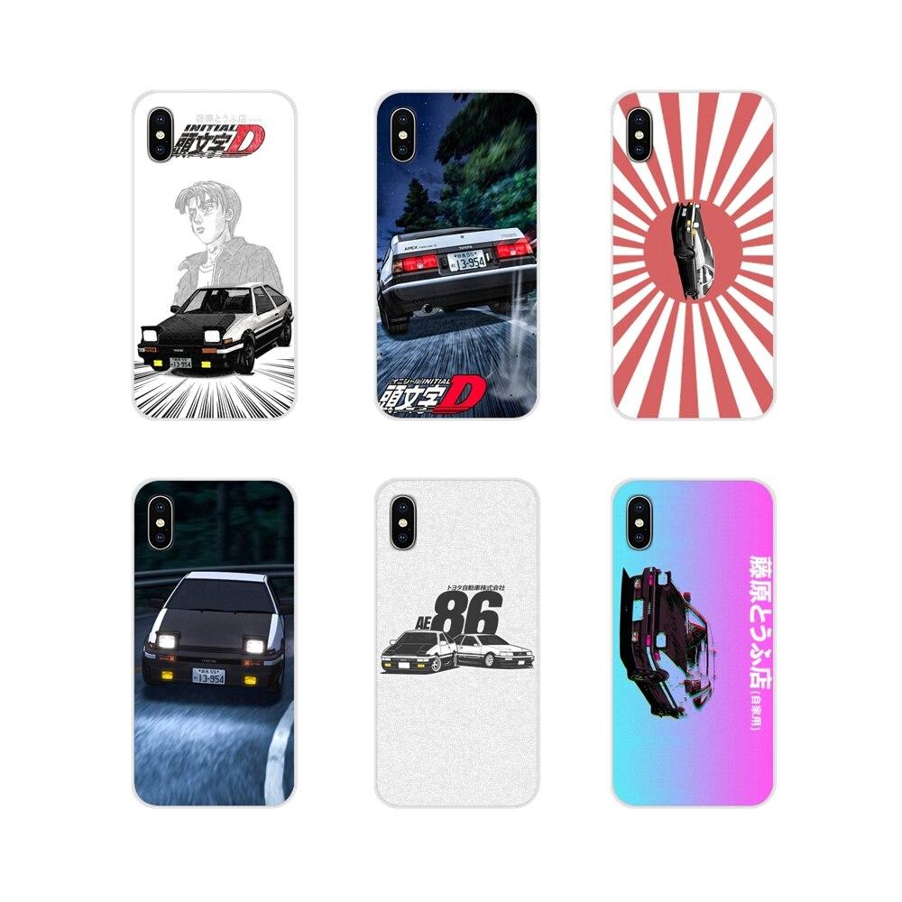 Para Apple iPhone X XR XS 11Pro MAX 4S 5S 5C SE 6 6S 7 7 Plus ipod touch 5 6 cubiertas de los casos del teléfono inicial D AE86