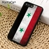 MaiYaCa سوريا المجر لاتفيا روسيا كوريا الجنوبية العلم قضية الهاتف آيفون 5 6 6s 7 8 Plus X XR XS 11 برو ماكس سامسونج S8 S9 S10