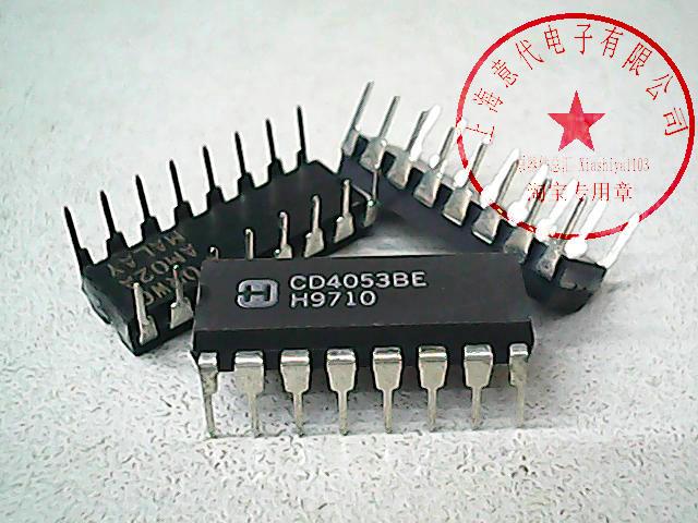 5 uds CD4053BE DIP-16