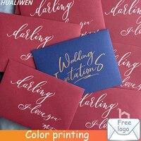 customized envelope letter paper envelope postcard envelope gift envelope wedding party invitation envelope