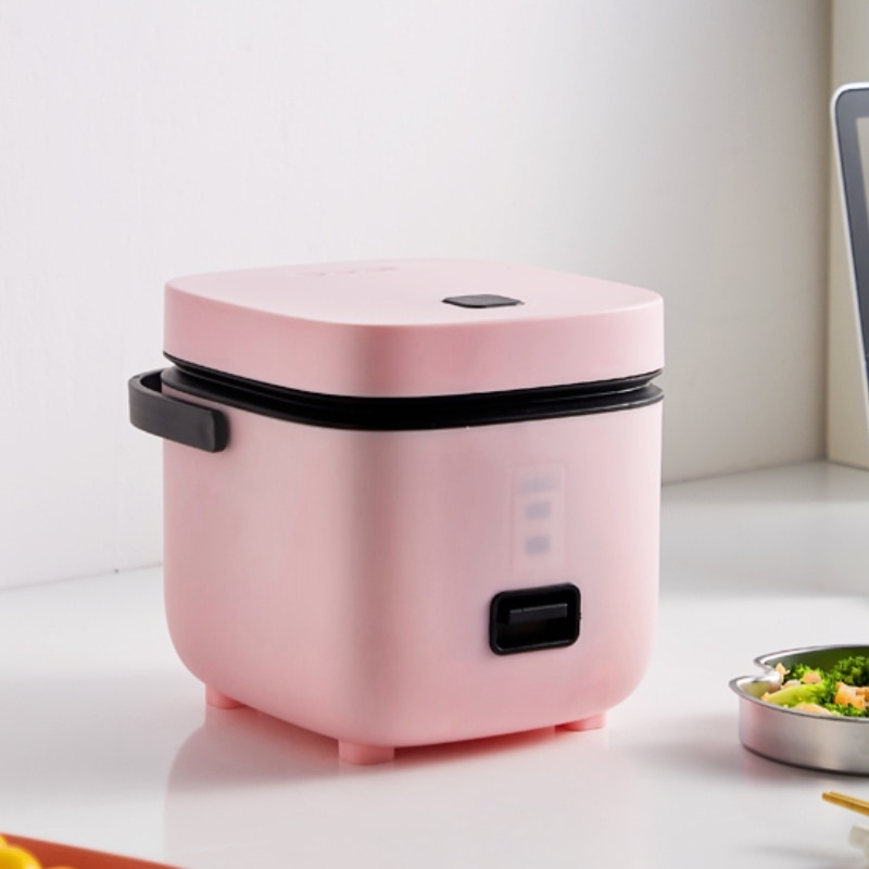 1.2L Mini Rice Cooker Multi-function Single Electric Rice Cooker Non-Stick Household Small Cooking Machine Make Porriage Soup CN multifunctional rice cooker 400w low power mini household electric cooker
