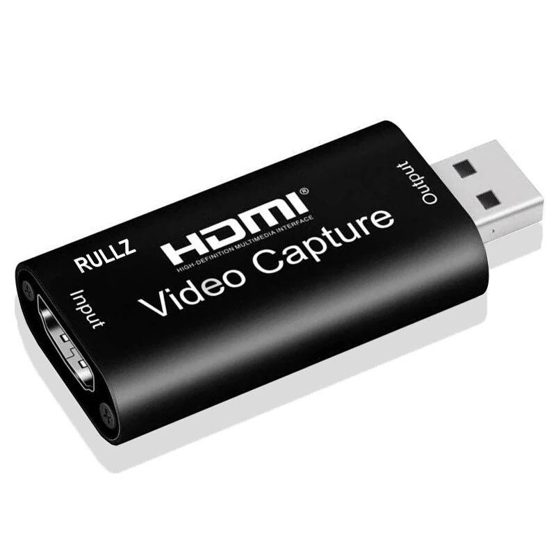 4K Video Capture Card USB 3.0 2.0 HDMI Video Grabber Box for PS4 Game DVD Camcorder Camera Record placa de video Live Streaming
