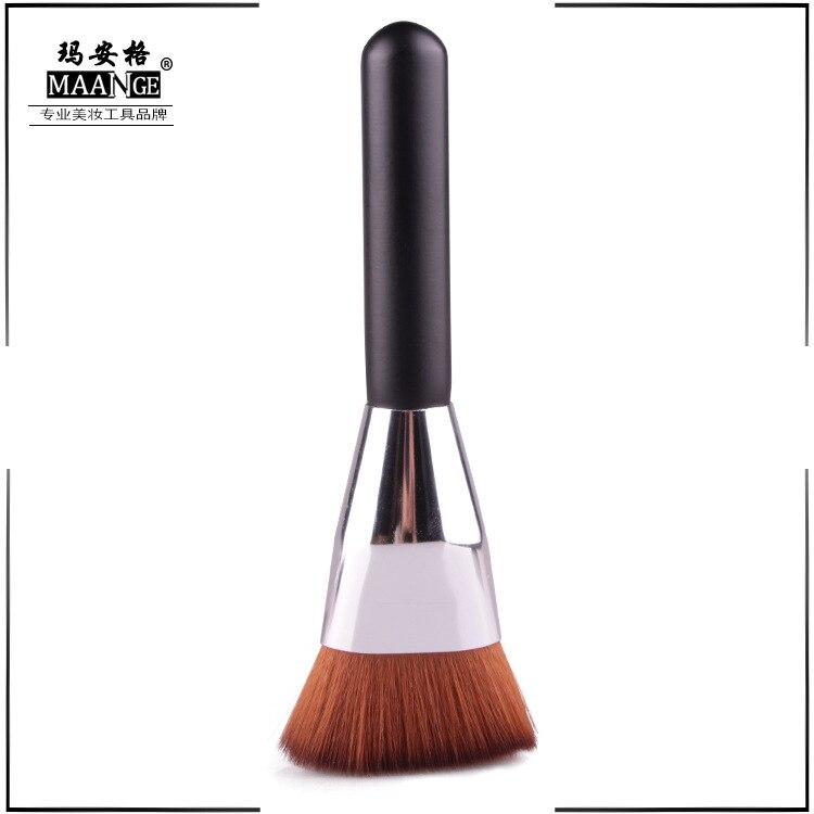 Фото - Один Тонер, контурная кисть, инструмент для макияжа плоская контурная кисть, косметический инструмент, подарок для макияжа для женщин или д... косметический инструмент для макияжа
