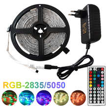 LED RGB Strip 12V Bluetooth WiFi Luces Led Lights SMD 5050 2835 Flexible Waterproof Neon Diode Remote Control Light Ribbon Luz