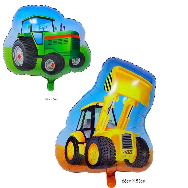 Сельскохозяйственный трактор, тент для мороженного, машины, риса, алюминиевый воздушный шар, детский праздник, семья, лето, джунгли, домашнее животное, поросенок, вечеринка на день рождения, decora Bow