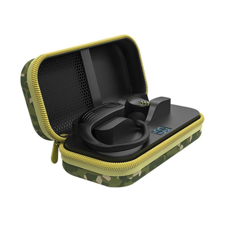 Auriculares TWS Blue tooth 5,0 de carga inalámbrica, Auriculares deportivos con gancho para la oreja con micrófono, Auriculares deportivos para juegos, para iphone xiaomi