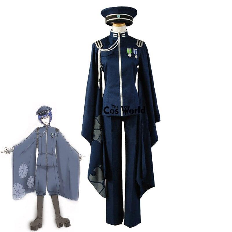 Vocaloid hatsune miku senbonzakura kaito topos calças uniforme roupa anime cosplay trajes