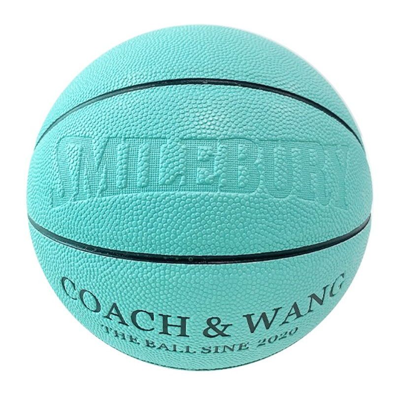 Ruox Code@A01 Official Size No. 7 Blue Basketball Outdoor Game Training Use Baloncesto Personalized Gift