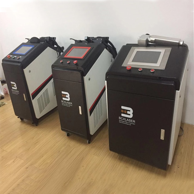 BCXlaser, máquina de limpieza láser manual Para quitar óxido, portátil para componentes electrónicos de precisión a bajo precio
