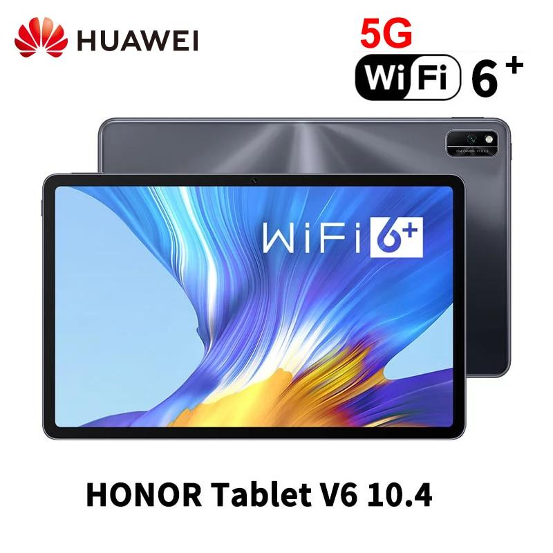 Huawei-tablet honor mediapad v6, 10.4 polegadas, 2k, kirin 985, octa core, modelo duplo, wi-fi, 6 +, versão lte, 5g