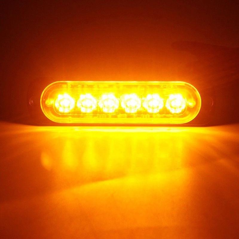 Auto LED-Licht Ersatz Lkw Ersatz 18W Gelb Zubehör Strobe