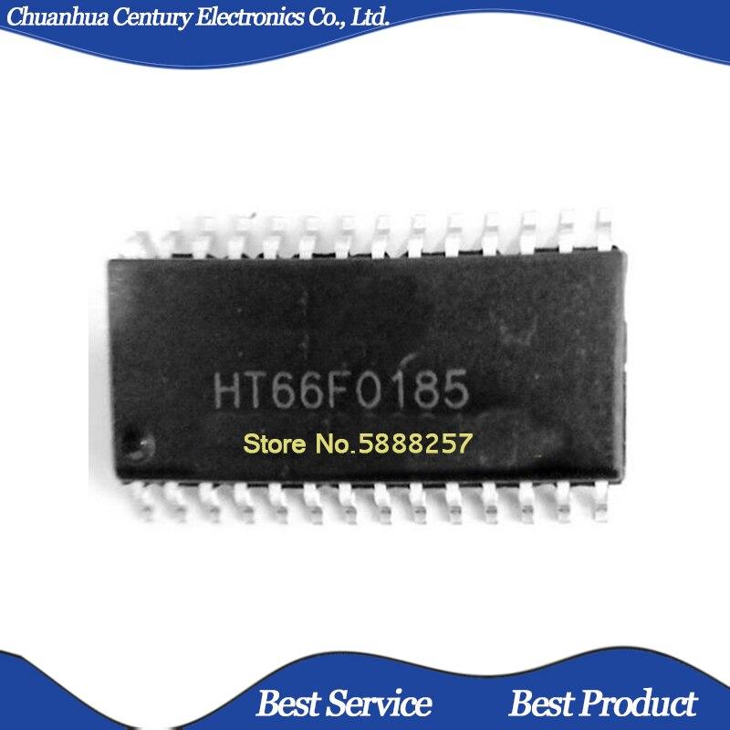 10 pçs/lote HT66F0185 SOP28 Novo e Original Em Estoque