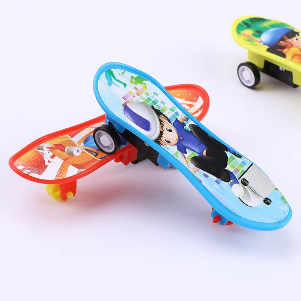 Soporte plástico profesional diapasón Skateboard Mini Finger Board Skate camión Finger Skateboard para regalo de juguete para chico