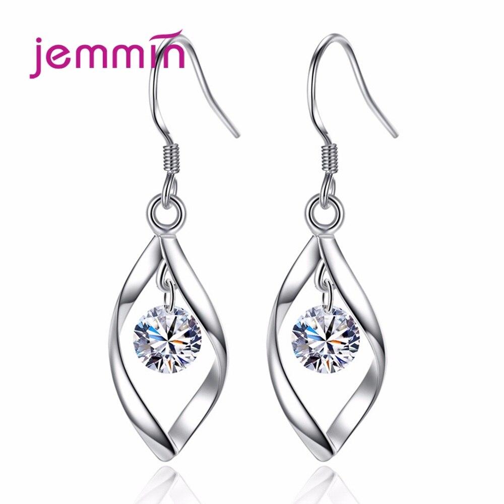 Brincos de gancho girar para mulheres, joias fofas para amantes de prata esterlina 925 de luxo estilo romântico da coreia
