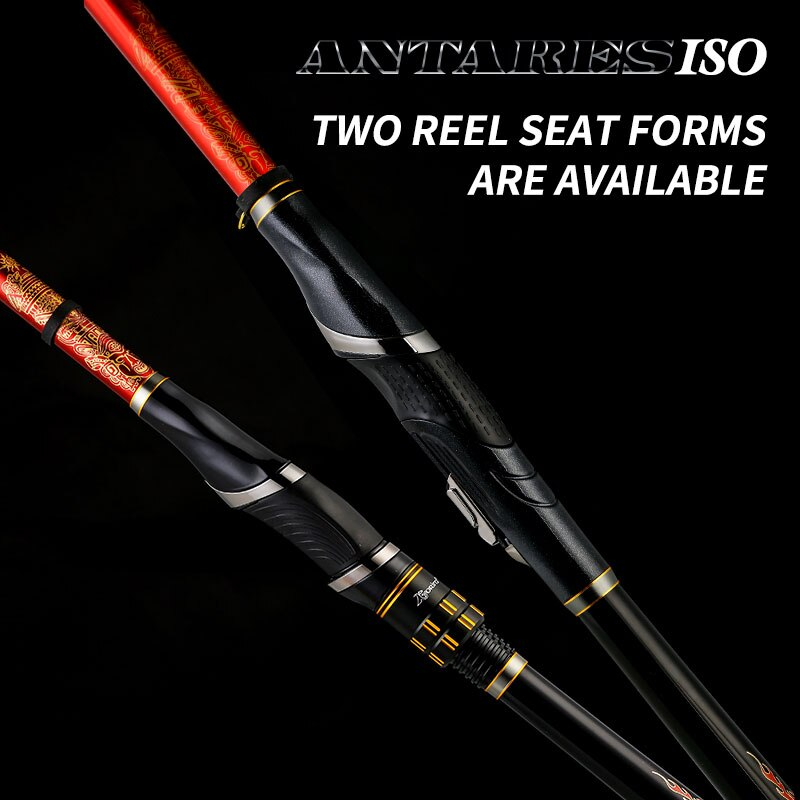 Kyorim ANTARES ROCK FISHING ROD 1.5-530 4.3M 5.3M KOREA SAMYANG SIC GUIDE LIGHT,THIN,SMOOTH TWO REEL SEAT FORMS ARE AVAILABLE enlarge