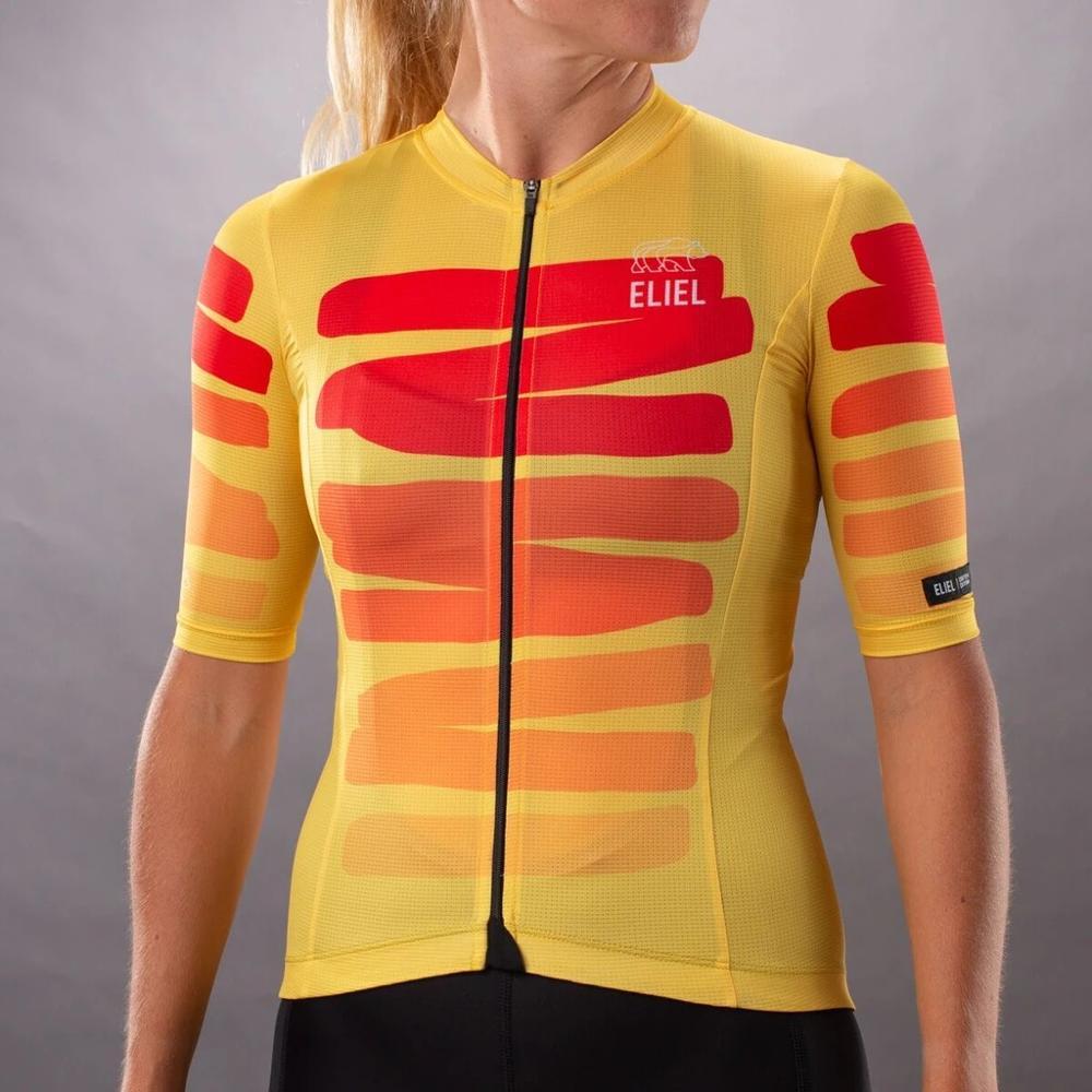 Conjunto de pantalones cortos y pechera para mujer ropa de Ciclismo de...