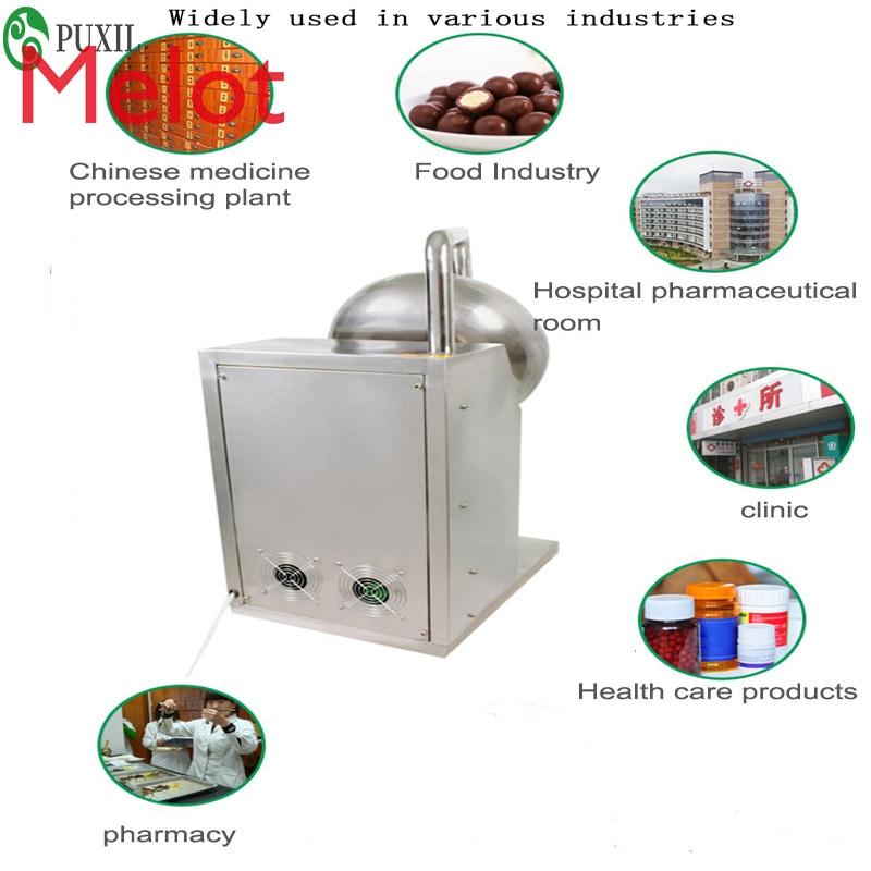 Traditional Chinese Medicine Pill Polishing Machine Chocolate candy coating machine enlarge