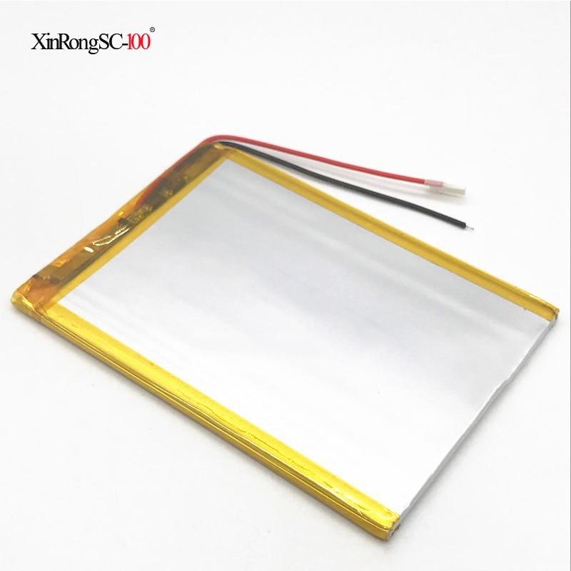 3.7V Li polymère Li-ion batterie au lithium pour irbis/digma/chuwi/prestigio/ginzzu/dexp/archos/bq/huîtres/wold/tesla/bdf tablette