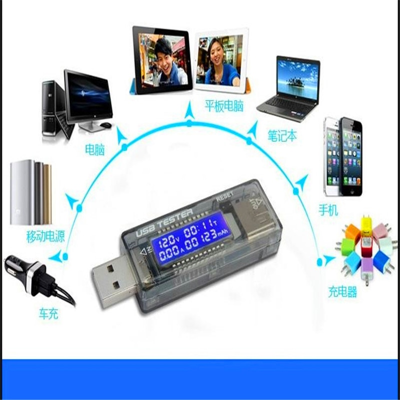 Usb 5 v 9 v 12 v 20 v qc 2.0 oled atual tensão carregador capacidade tester usb carregador médico medidor de energia texto voltímetro