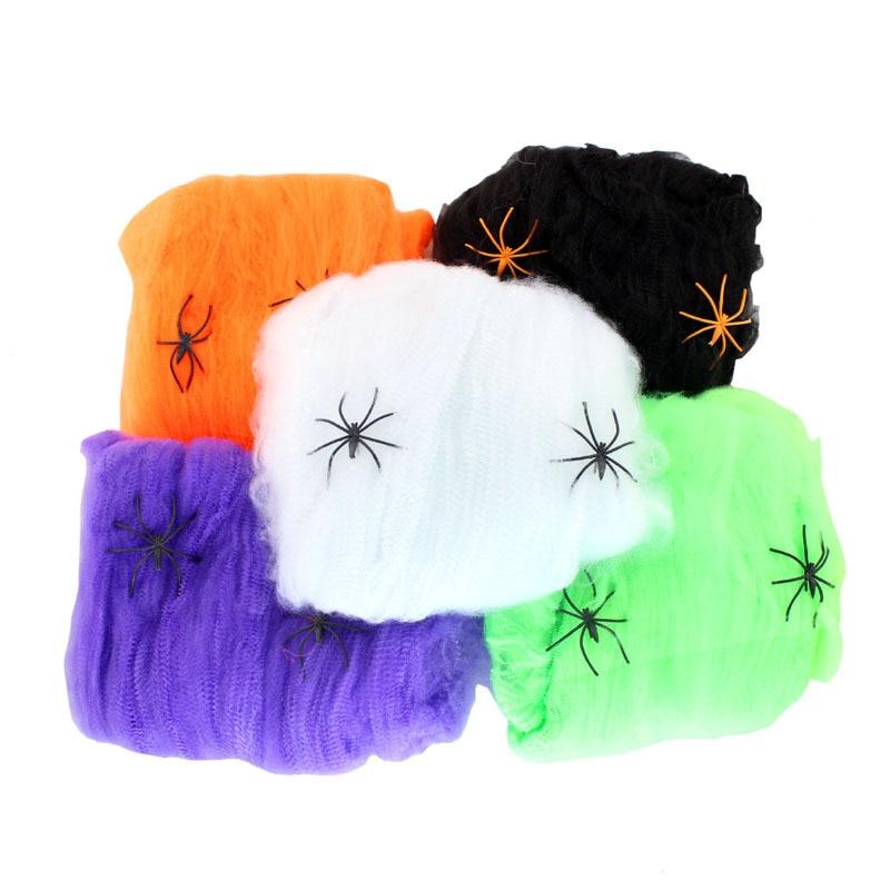 Фото - Omilut 20 г/пакет искусственный паук, украшение для Хэллоуина, реквизит для страшвечерние, белый цвет, страшный дом, домашний декор декор legend seashells 20 45 336763 73 44