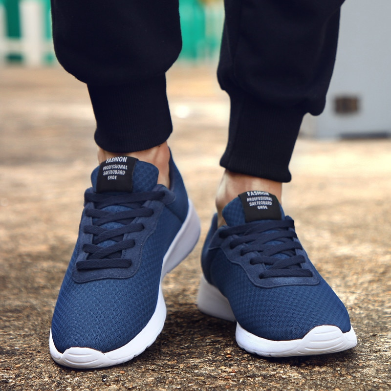 Autumn Men Sneakers 2021 New Men Casual Shoes Lace Up Men Running Shoes Lightweight Comfortable Breathable Walking Sneakers men s running shoes autumn new style pu sneakers high quality outdoor lightweight and comfortable sneakers men s sneakers