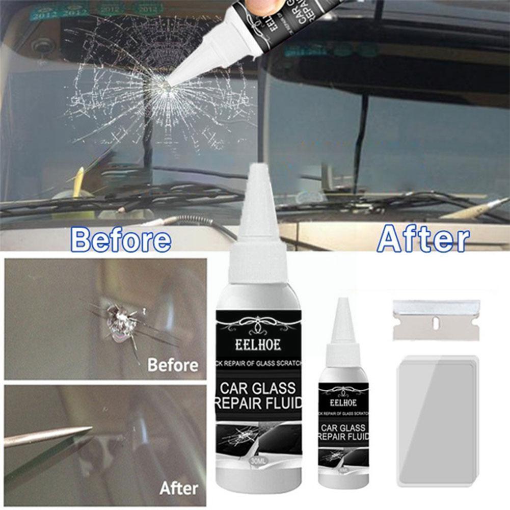 Автомобильные наполнители, 30 мл, клей, герметик, клей для ремонта лобового стекла автомобиля, инструмент для восстановления стекла, набор дл...