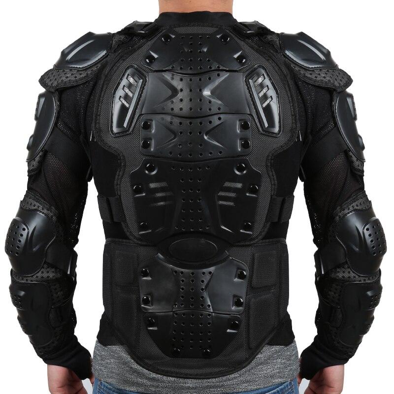 Motocicleta corpo inteiro armadura espinha peito ombro equitação engrenagem motorcross spine peito protetor S-XXXL motocicletas