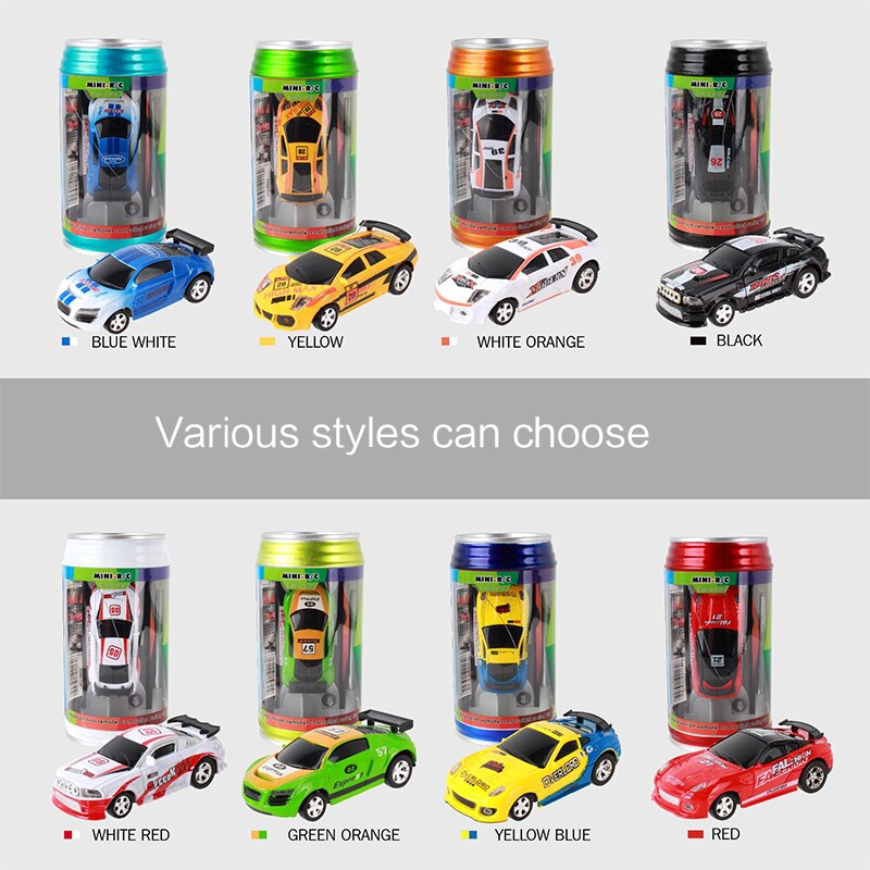 Mini Rc Car Radio Remote Control Micro Racing Car 4 Frequencies Toys For Kids Gifts Rc Models Christ