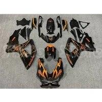 orange black motorcycle fairing for suzuki k8 gsx r gsxr 600 750 08 10 small r medium r motorcycle shell motorcycle suit