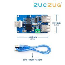 1 pièces Quad USB isolateur USB HUB Isolation Module couplage Protection carte ADUM3160