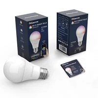 WiFi Smart Light Bulb Dimmable Color Changing E26 E27 LED Bulb Work with Alexa Google Home   810lm RGB Lamp  No Hub Required