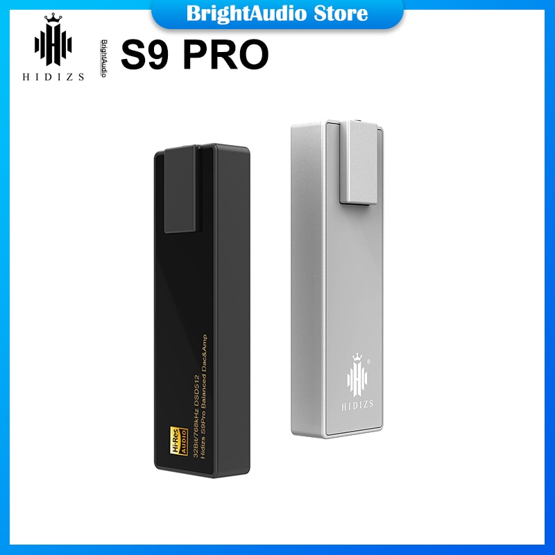 Hidizs S9 PRO ES9038Q2M متوازن صغير USB DAC أمبير مضخم ضوت سماعات الأذن DSD512 PCM 768kHz 2.5/3.5 مللي متر الناتج 200Mw فك S9PRO