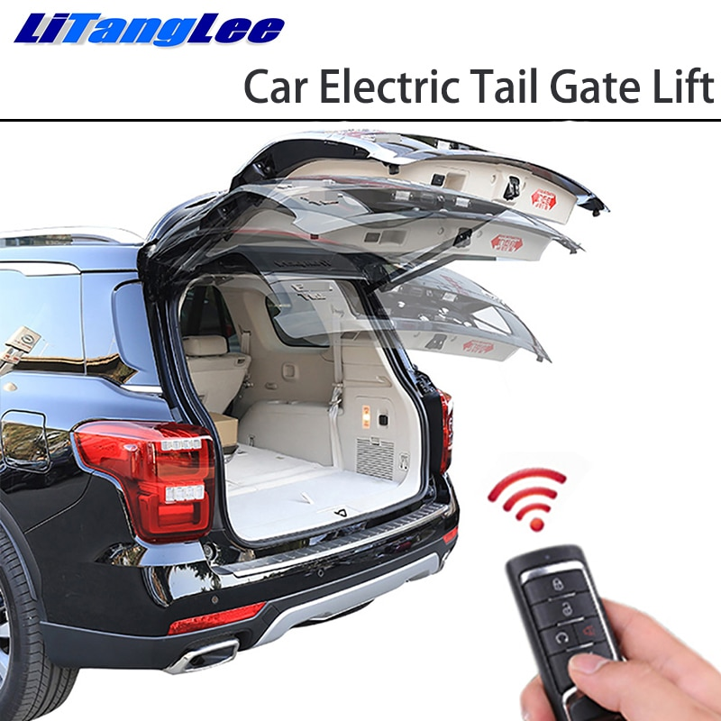 LiTangLee Car elevador eléctrico para puerta trasera sistema de asistencia para Mercedes Benz GLC clase X253 C253 2015 ~ 2020 tapa de Control remoto