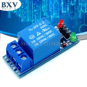 10pcs/Lot 5V 1 One Channel Relay Module Low Level for SCM Household Appliance Control