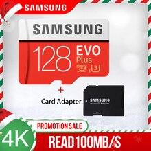 Karta pamięci do samsunga micro sd 32GB 64GB 128GB 256GB 512GB EVO Plus Class10 wodoodporna karta TF Memoria Sim do smartfonów