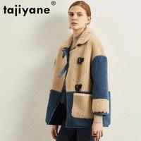 real fur coat 100 wool jacket autumn winter coat women clothes 2020 korean vintage sheep shearling tops abrigo mujer zt3482