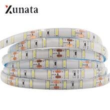 5M DC12V SAMSUNG puce LED bande SMD7020 60LED s/M LED étanche bande Ultra lumineux blanc froid ruban LED plus lumineux que SMD5630