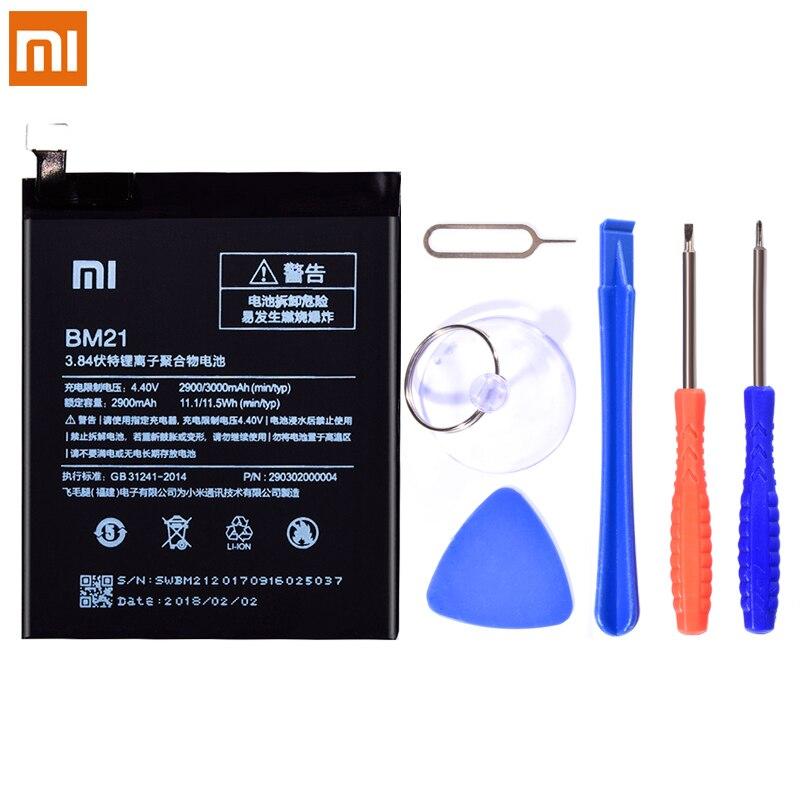 Reemplazo Original de la batería BM21 para Xiaomi nota Mi nota teléfono batería de 3000mAh