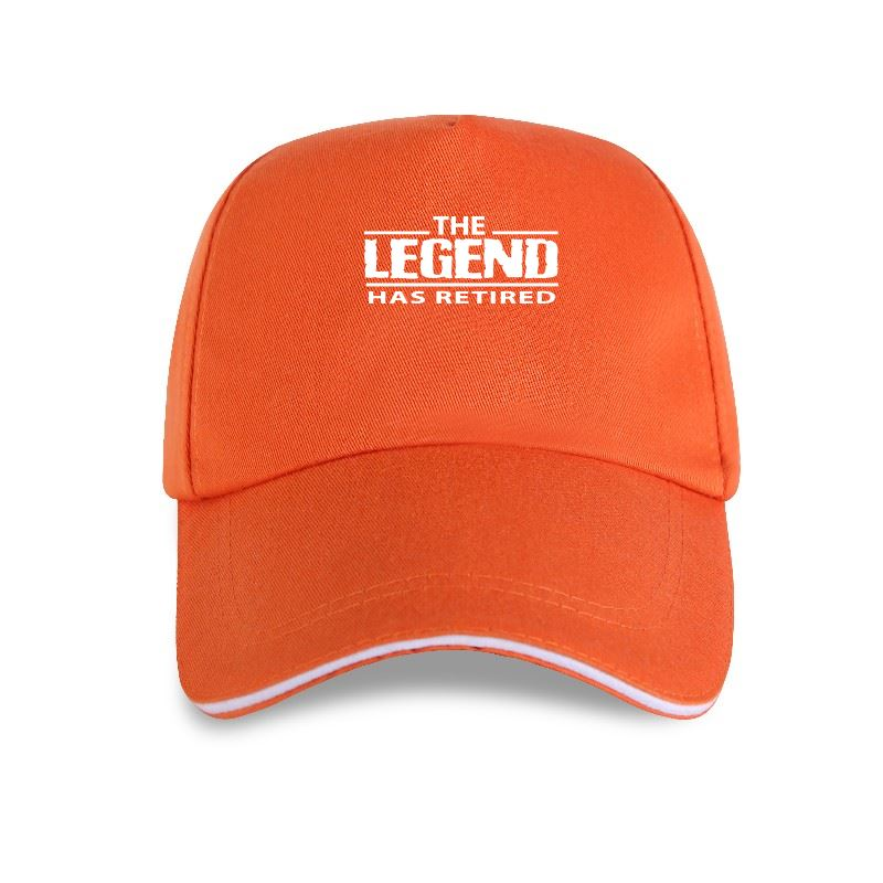 New The LEGEND Has Retired Mens Funny Baseball cap Retirement Pension Birthday 65th 68th Birthday Gift