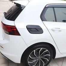 Car Oil Fuel Tank Gas Cap Cover Trim Sticker for VW Golf 8 MK8 Accessories 2020 2021