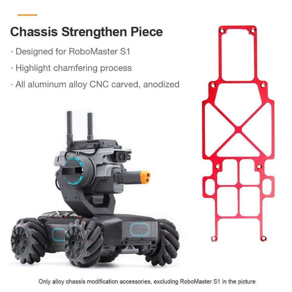 Pieza de refuerzo de chasis para DJI RoboMaster S1 Robot Educativo de aleación de aluminio pieza de accesorios mejorados chasis de refuerzo