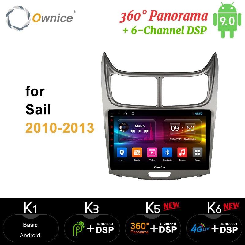 Ownice carplay 360 Panorama DSP Android 9,0 64G ROM 4G RAM Auto DVD-Video-Player 4G LTE SPDIF Für Chevrolet Segel 2010 2011 - 2013