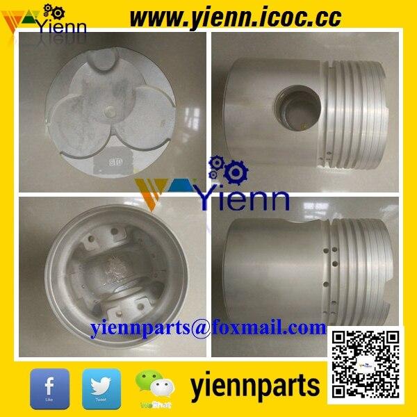 DA640 DA640T pistón 9-12111-902-1-1-12111-122-1 para TCM JF60 JF65 W90 carretilla elevadora DA640 Diesel reparación de motor partes