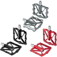 bicycle aluminum alloy pedal cnc3 palin mountain bike pedal bicycle bearing riding accessories mountain bike pedal