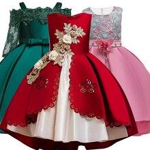 Robe princesse pour filles   Tenue de soirée élégante, pour enfants de 3 6 8 9 10 12 ans, 2020