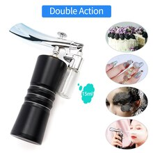 Multi-Purpose Double Action Mini Air Compressor Kit Air-Brush paint Spray Gun For Body Paint Art Nail Tool Set Face Spray Gun