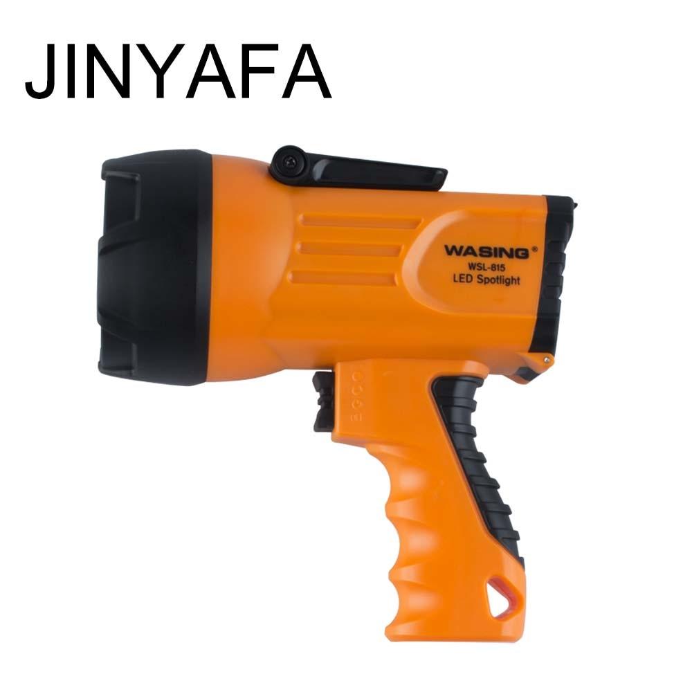Linterna LED tipo pistola a prueba de explosiones para Estación de Servicio de automóvil, reflector recargable portátil