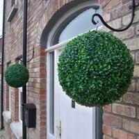 Boule de plantes artificielles  arbre topiaire  buis  pour la maison  en plein air  decoration de fete de mariage  boules de buis artificielles  jardin  plante verte  nouveau