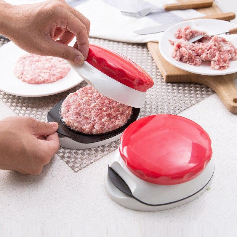 Réglable hambourg pressage Machine manuel pression viande remplissage fabricant créatif cuisine outils de bricolage