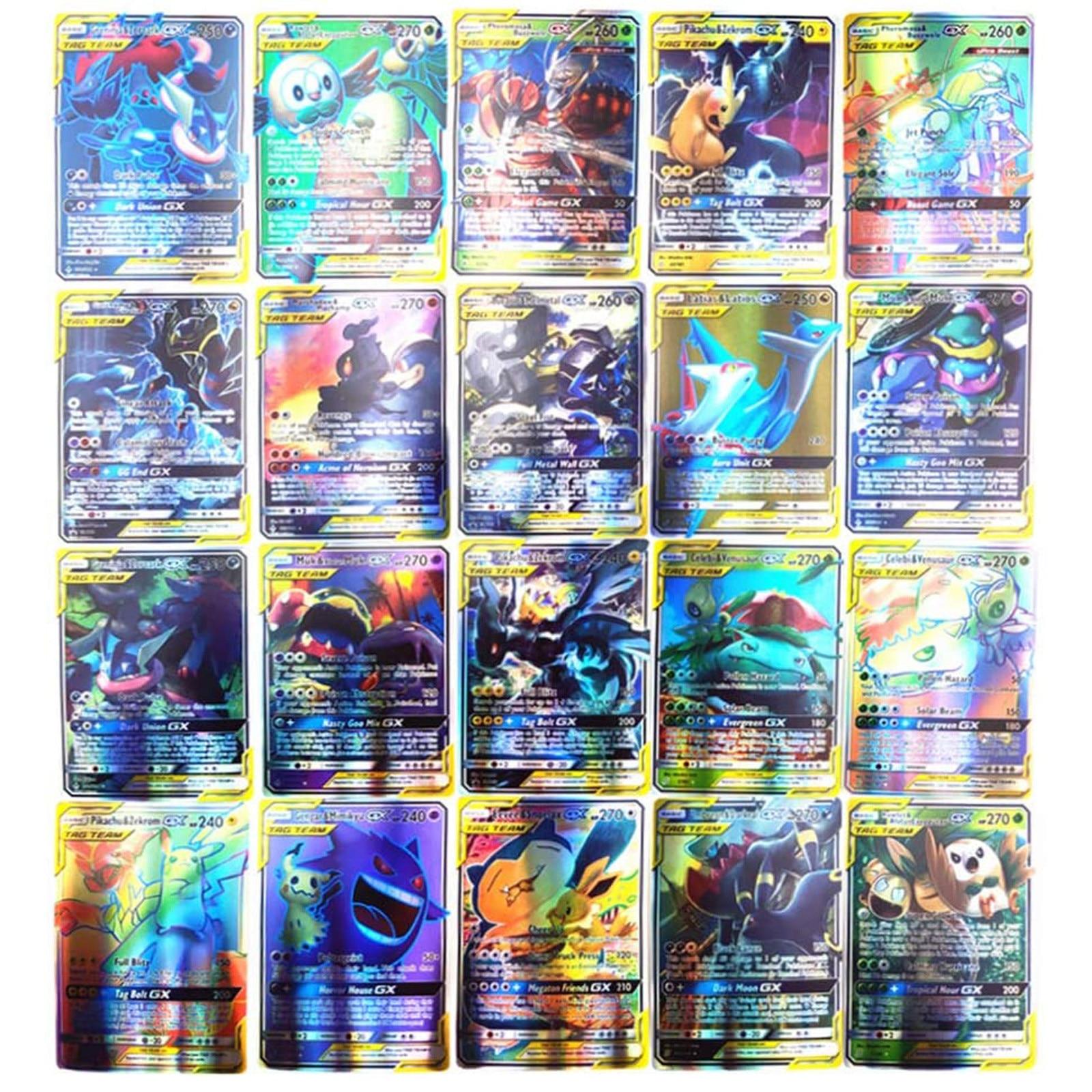 Набор-карт-pokemon-150-шт-в-том-числе-команда-80tag-40-Мега-20ultra-gx-1-тренировочные-Сияющие-карты-pokemon-booster-box-collection-3